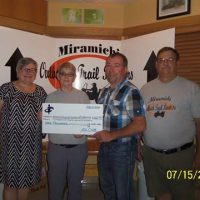 Miramichi Outback Trail Runners ATV Club Donates $1000