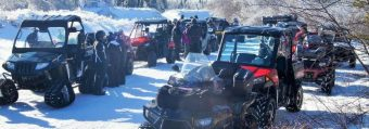 Outback hosted ATV Winter Run